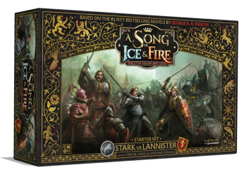 A Song Of Ice And Fire - Stark vs Lannister Starter Set - EN