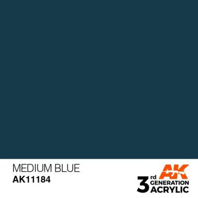 Medium Blue 17ml