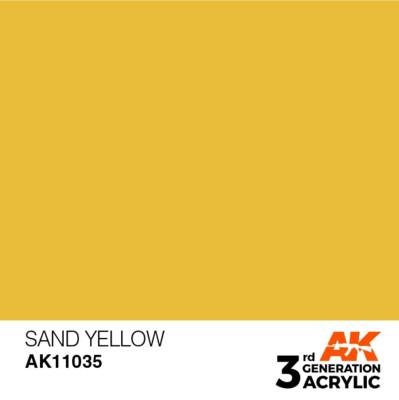 Sand Yellow 17ml