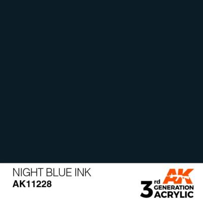 Night Blue INK 17ml