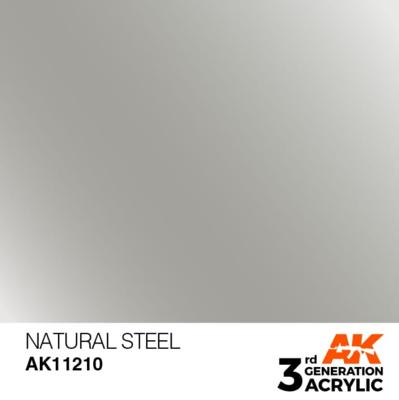 Natural Steel 17ml