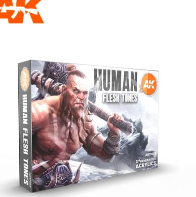 HUMAN FLESH TONES SET