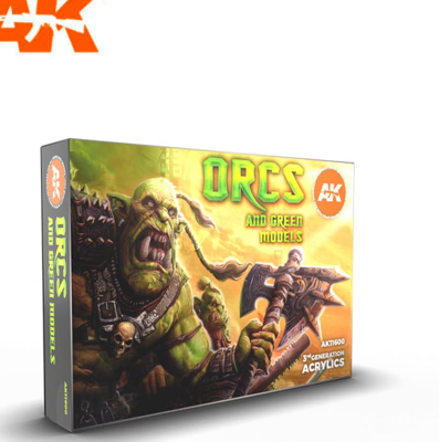 ORCS AND GREEN CREATURES SET