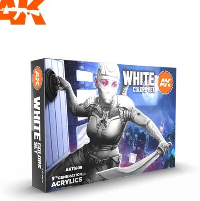 WHITE COLORS SET