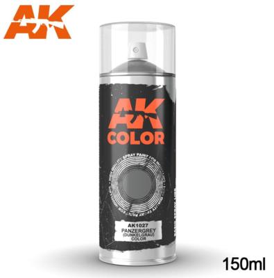 Panzergrey (Dunkelgrau) color - Spray 150ml