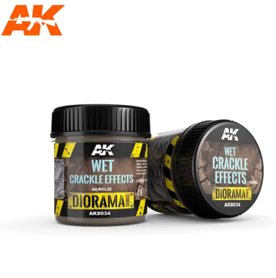 WET CRACKLE EFFECTS - 100ml (Acrylic)