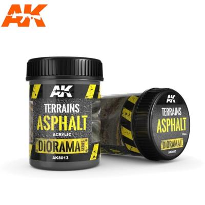 TERRAINS ASPHALT - 250ml (Acrylic)