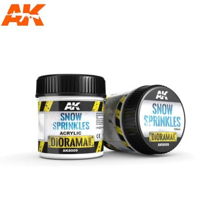 SNOW SPRINKLES - 100ml (Acrylic)