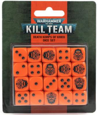KILL TEAM: DEATH KORPS OF KRIEG DICE SET