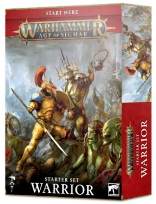 AGE OF SIGMAR: WARRIOR STARTER SET (ENG)