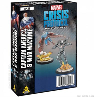 Marvel Crisis Protocol: Captain America & War Machine