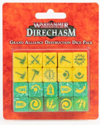 WHU: GRAND ALLIANCE DESTRUCTION DICE
