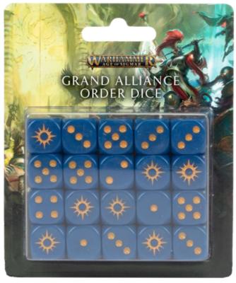 AOS: GRAND ALLIANCE ORDER DICE SET