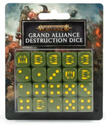AOS: GRAND ALLIANCE DESTRUCTION DICE SET