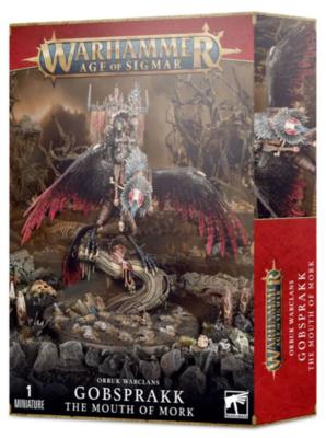 ORRUK WARCLANS: GOBSPRAKK THE MOUTH OF MORK