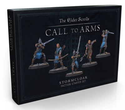 Elder Scrolls: Call to Arms - Stormcloak set (Plastic)