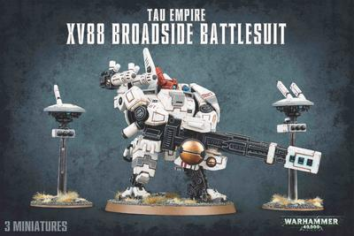 TAU EMPIRE XV88 BROADSIDE BATTLESUIT.