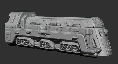 Grav Train 3D file