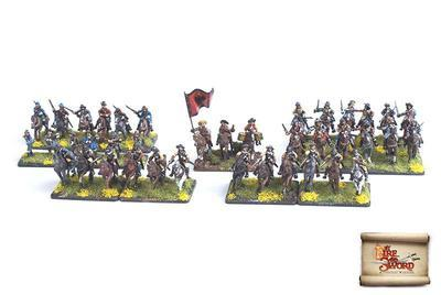 By Fire and Sword: Imperial Skirmish Set - 1