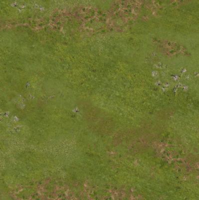 3'x3' G-Mat: Highlands in War