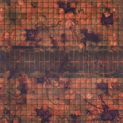 3'x3' G-Mat: Necropolis - 1