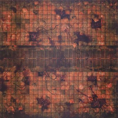 4'x4' G-Mat: Necropolis - 1