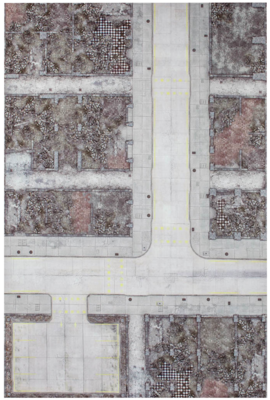 6'x4' G-Mat: Urban Warzone - 1