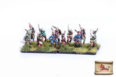 By Fire and Sword: Azabs w/handguns