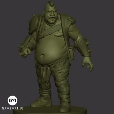 Fat guy 3D file
