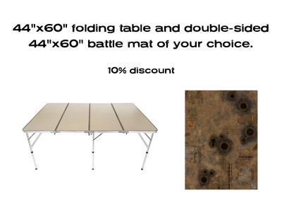 """44""""x60"""" G-Board Deal: including double sided 44""""x60"""" mat -10% - 1"""
