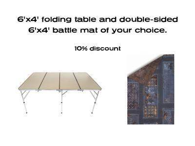 6'x4' G-Board Deal: including Double-sided 6'x4' mat -10% - 1