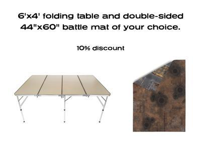 "6'x4' G-Board Deal: including Double-sided 44""x60"" mat -10% - 1"