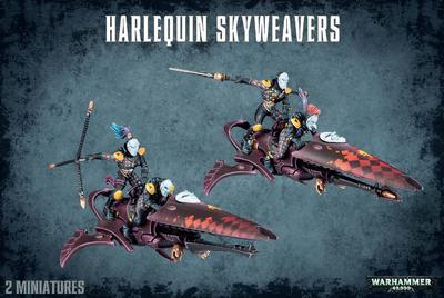HARLEQUIN SKYWEAVERS.