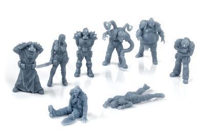 Hive Scum 8 miniatures set - 1