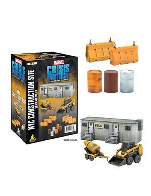Marvel Crisis Protocol: NYC Construction Site Terrain - EN