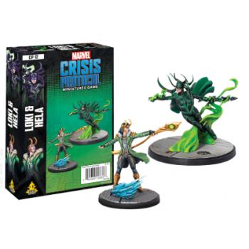 Marvel Crisis Protocol: Loki and Hela - EN