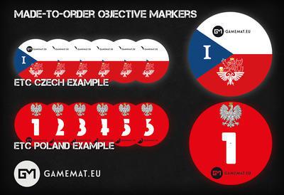 Objective Markers Custom