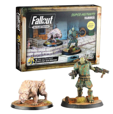 Fallout: WW Super Mutants Hammer
