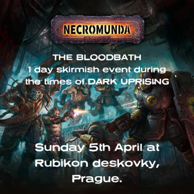 Necromunda Rubikon 1 day event