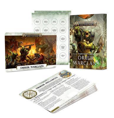 WARSCROLL CARDS: ORRUK WARCLANS (ENG)