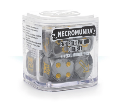 Enforcer Patrol Dice Set