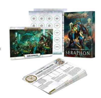 WARSCROLL CARDS: SERAPHON (ENG)
