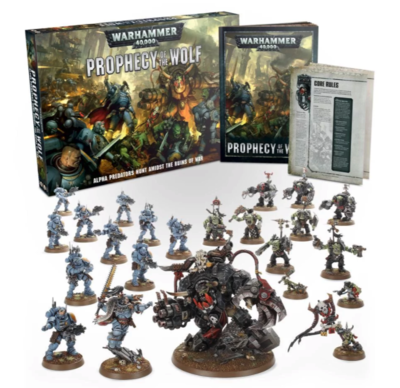 WH40K: PROPHECY OF THE WOLF (ENG)