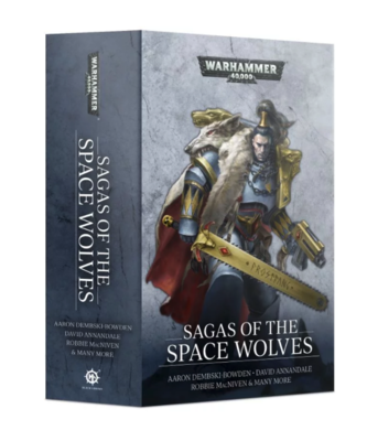SAGAS OF THE SPACE WOLVES (PB ENG)
