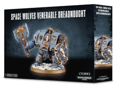 delisted SPACE WOLVES VENERABLE DREADNOUGHT