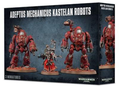 ADEPTUS MECHANICUS KASTELAN ROBOTS.