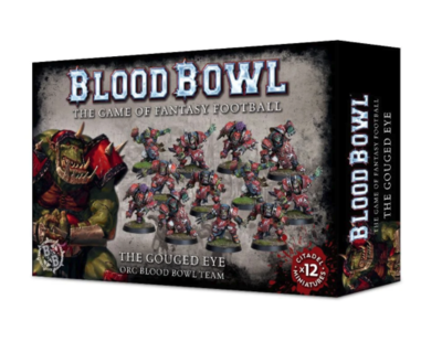 THE GOUGED EYE ORC BLOOD BOWL TEAM