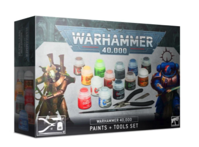WARHAMMER 40K PAINTS+TOOLS - 1