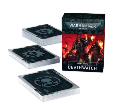 DATACARDS: 9th ed. DEATHWATCH (ENG)