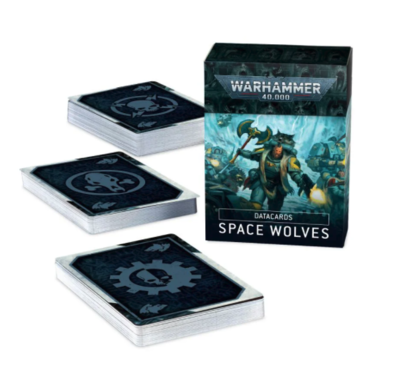 DATACARDS: 9th SPACE WOLVES (ENG)